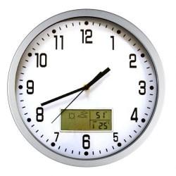9436 Zegar z termometrem i prognozą pogody