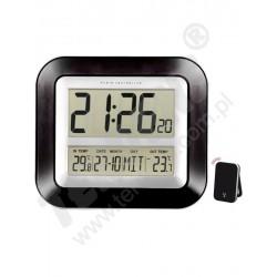 1188 Termometr elektroniczny WALLE Zegar Kalendarz czytelny