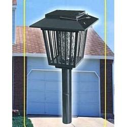 Lampa solarna stojąco-wisząca owadobójcza