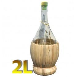 Butelka Fiasco w wiklinie 2L