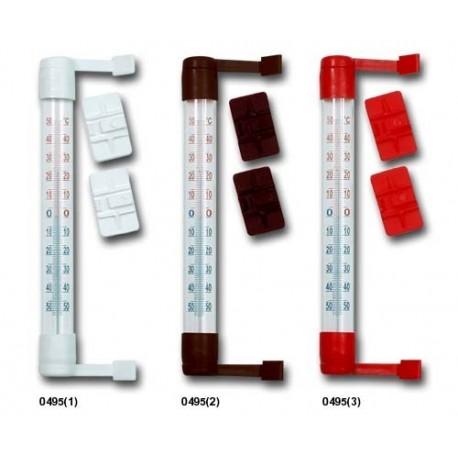 0495 TERMOMETR ZEWNĘTRZNY ZAOKIENNY 19,5 cm