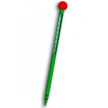 Termometr glebowy zielony 0761