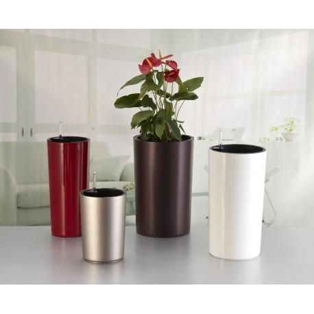 Doniczka Z Systemem Nawadniania Wysoka Round Tall Flower Pot Terdens Sc