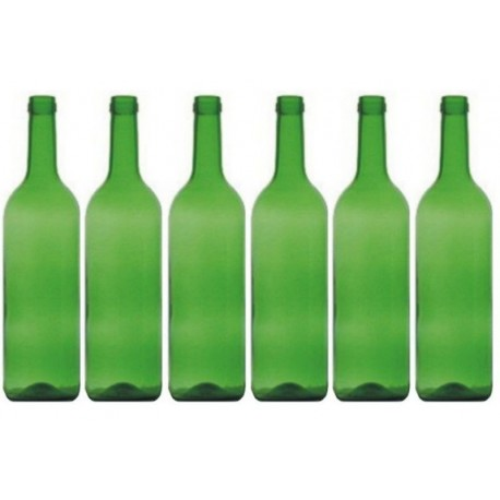 Zestaw 6 butelek z korkami