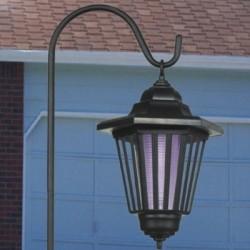 Lampa solarna wisząca owadobójcza z hakiem ozdobnym