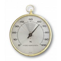 Analogowy higrometr z mosiężnym pierścieniem TFA 44.2001